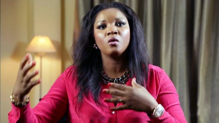 Why Do Parents Allow Their Children To Do This? – Omotola Jalade Reacts To The Way INEC Is Treating Corp Members