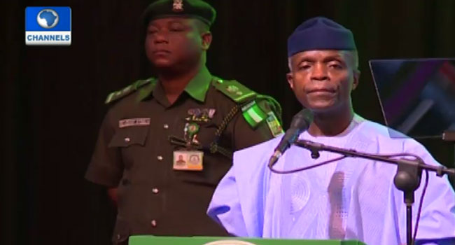 Osinbajo Blames Past Administration For Wasting Nigeria's Resources