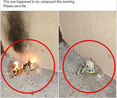 Man Cries Out After Seeing This In His Compound