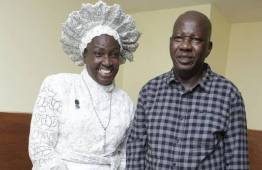 Actor, Baba Suwe Visits Iyaadura Esther Who Gave Him N10 Million For Treatment (Photos)