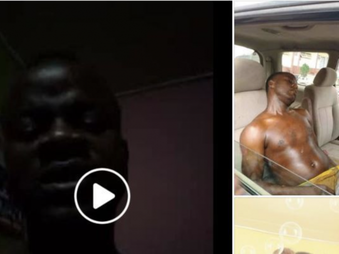 Nigerian Man Commits Suicide With Sniper, After His Girlfriend Of 9 Years Left Him