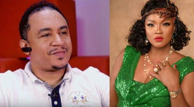 "Omotola Replies Daddy Freeze After He Said ""You Don't Have To Be Married To Be Blessed"""