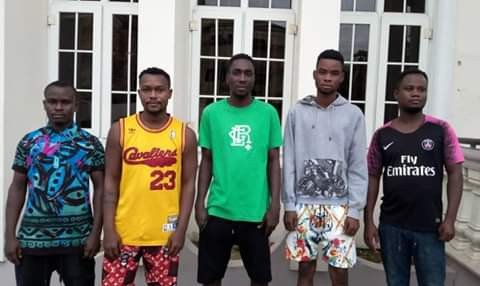 Five 'Yahoo Boys' Including Secondary School Student Convicted In Cross River State