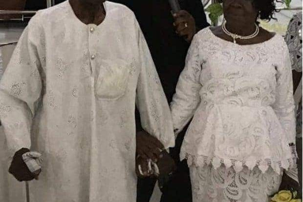 Finally 96-Year-Old Man Marries 93-Year-Old Girlfriend After 50 Years Of Dating