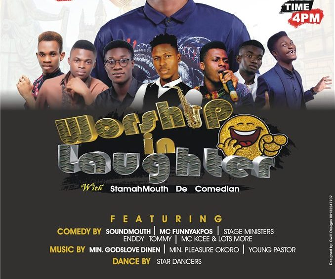 TIG Entertainment Present Worship In Laughter With Stamahmouth De Comedian