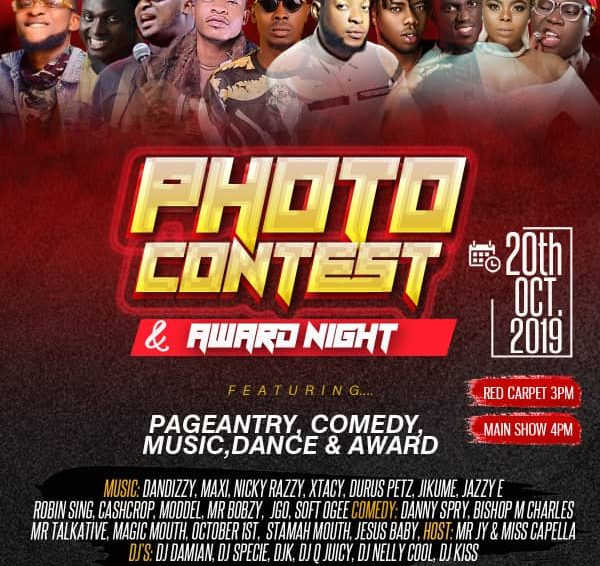 Photo Contest 2019 Award Night Happening  This October.