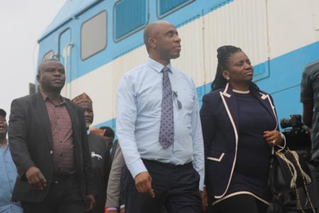 What My Wife Saw During Inspection Of Lagos-Ibadan Rail Project — Amaechi