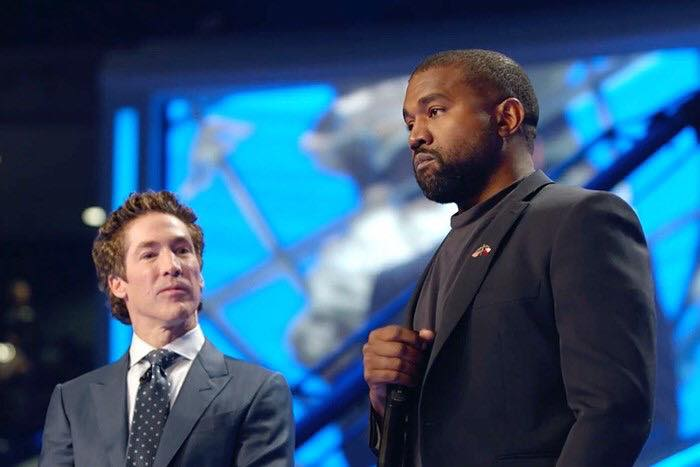 Kanye West Advises Against Hollywood At Lakewood Church