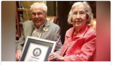 She's 105. He's 106. The World's Oldest Living Couple Celebrates 80 Years Of Marriage.
