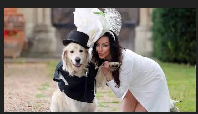 Woman Marries a Dog after 220 Failed Relationships with Men