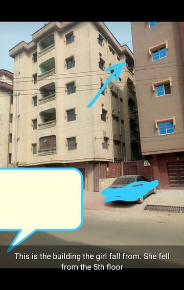 Man Throws Pregnant Girlfriend Off His 5th Floor Apartment In Onitsha