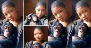 My Monkey Is Better Than Any Man, He Satifies Me In Bed – Nigerian Lady Says