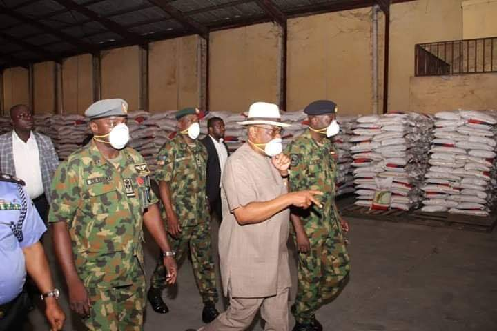 Governor Wike To Distribute Foodstuffs To Less Privileged In Rivers State (Photos)