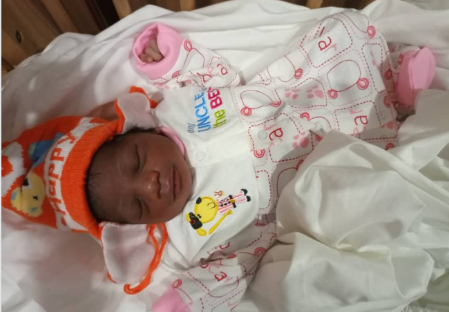 Police Rescue Day-Old-Baby Abandoned Inside Gutter In Awka