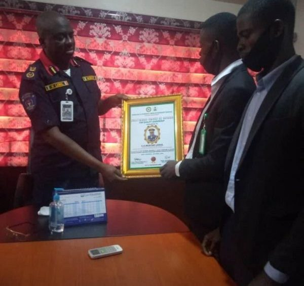 NIGERIA SECURITY & CIVIL DEFENCE CORPS ( NSCDC) RIVERS STATE COMMAND RECEIVES NIDSUG